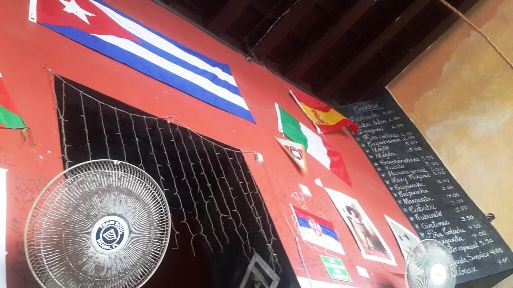 Meniu Cuba