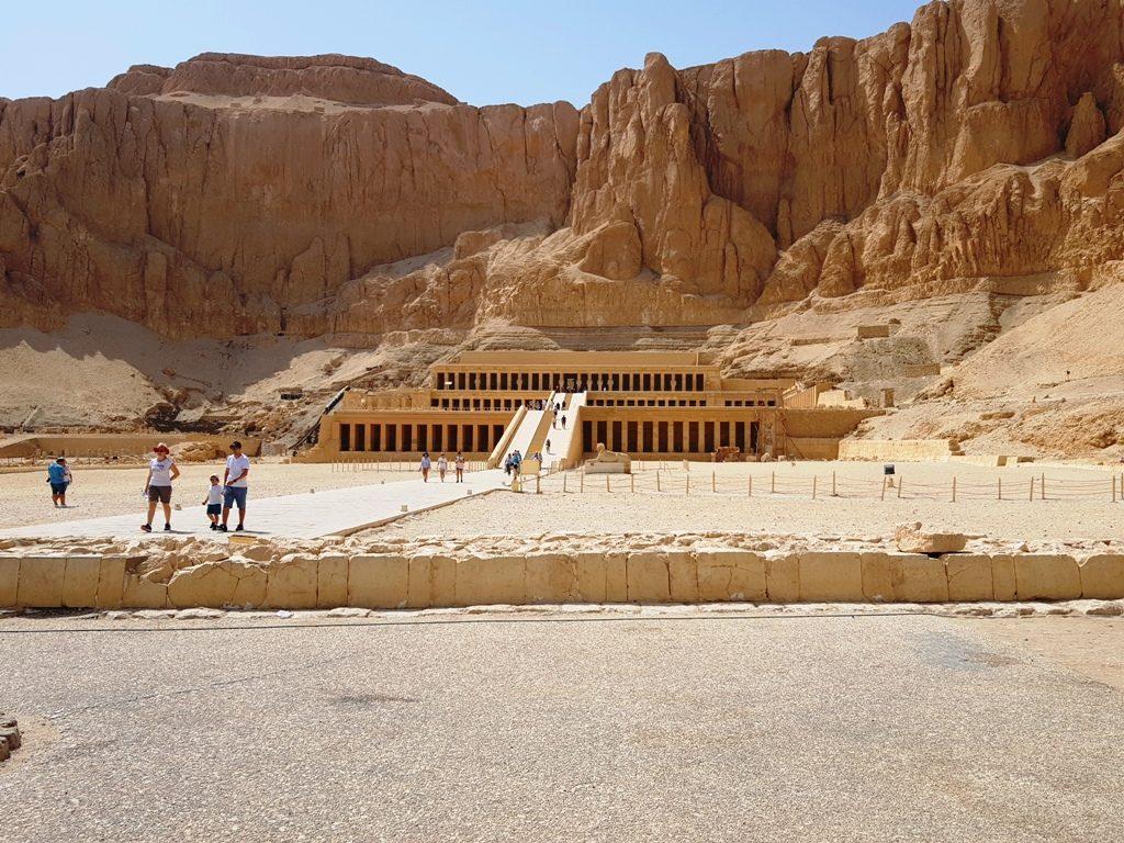 excursie la Luxor - Templul lui Hatshepsut